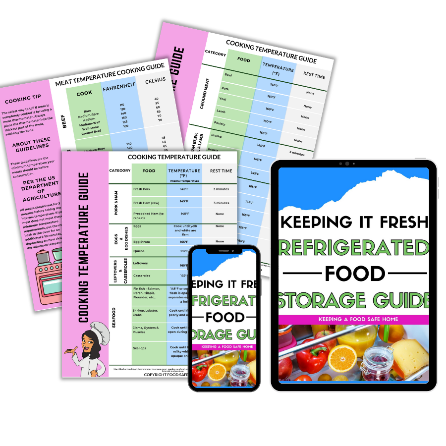 REFRIGERATED FOOD STORAGE GUIDE